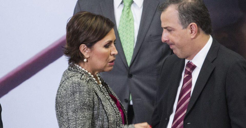 ASF presenta denuncias ante PGR en contra de Rosario Robles y Jose Antonio Meade.