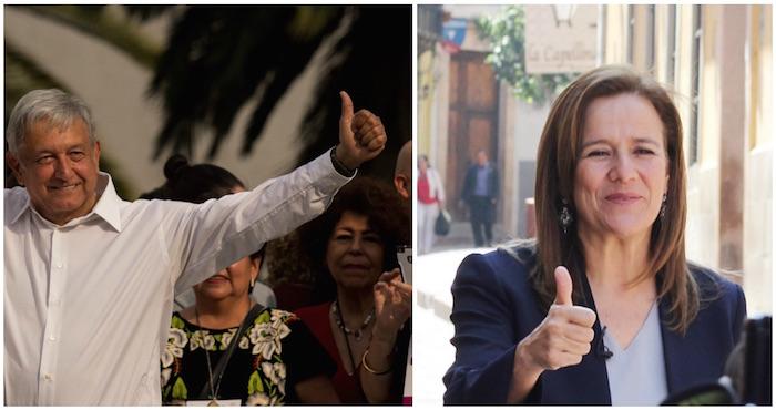 AMLO acusa a Margarita Zavala de preparar alianza con candidata del PRI.