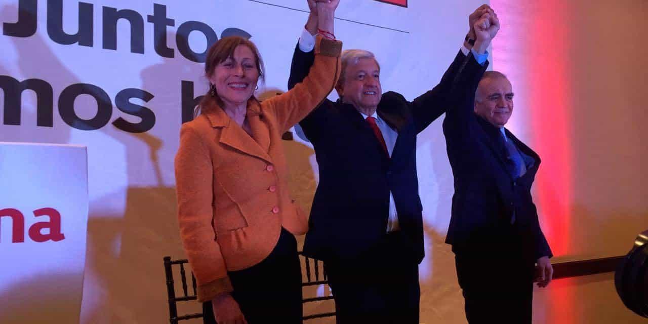 Tatiana Clouthier coordinadora de campaña de AMLO.