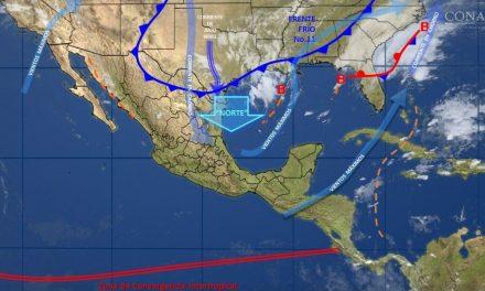 Tormenta Invernal entra en el país, se pronostican nevadas.