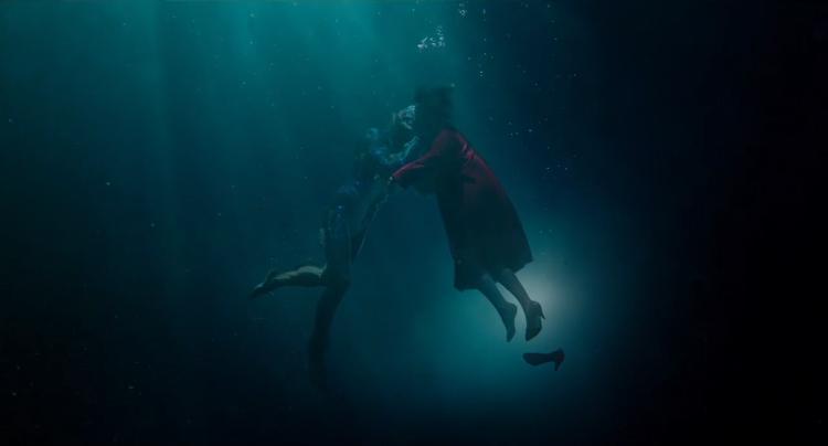 The Shape of Water de Guillermo del Toro nominada a 13 premios Oscar.