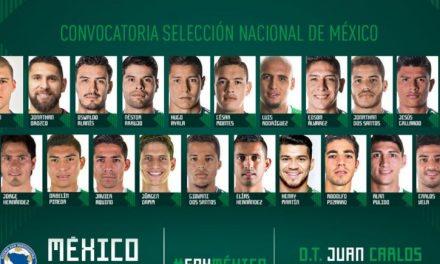 Lista de convocados de la Selección Mexicana para juego amistoso contra Bosnia