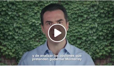Adrián de la Garza busca reelección.