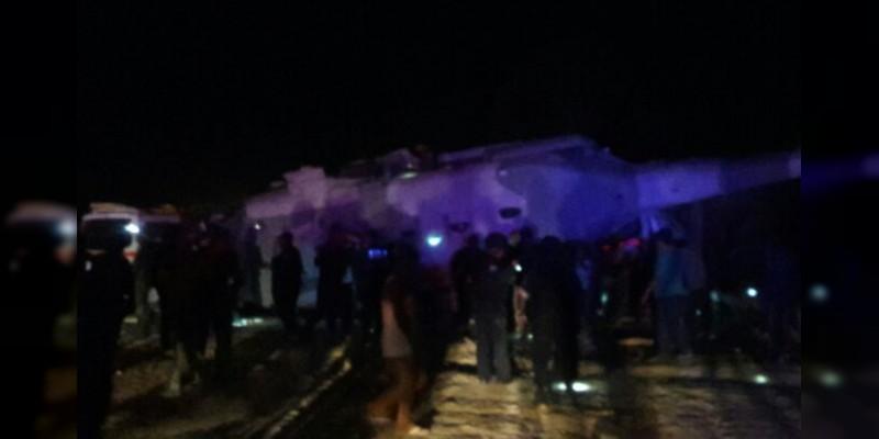 Helicóptero de SEDENA se desploma, iba a bordo Secretario de Gobernación y Gobernador de Oaxaca