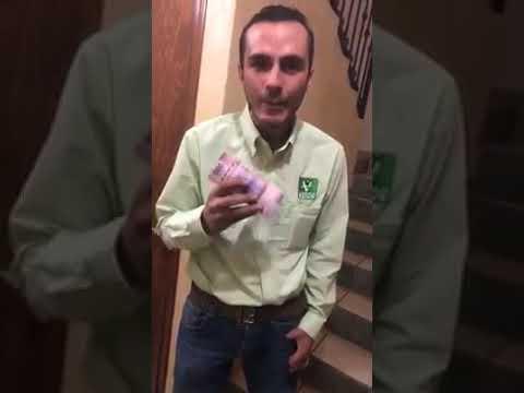 ¡Salud jodidos!… Anuar Selmen Gonzalez lider del PVEM de jalpan de Serra.