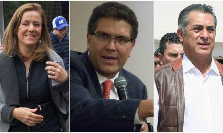 Bronco, Zavala y Ríos hablan de unir esfuerzos a favor de una candidatura independiente única.