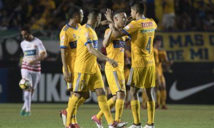 Tigres UANL vence a Herediano y avanza a 4tos de final de Liga de campeones de concacaf.