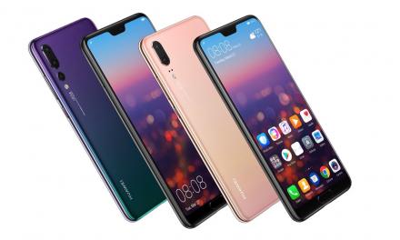 Huawei: lanzamiento de modelos P20 y P20 Pro