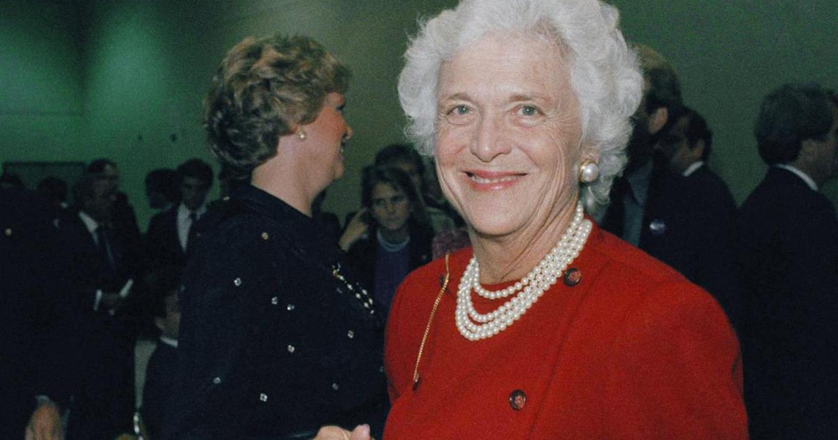 Fallece Barbara Bush