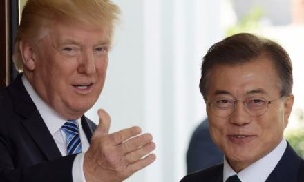 Moon propone premio Nobel de la Paz a Trump