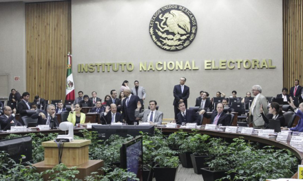 INE sortea candidatos para debate