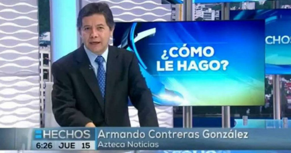 Fallece Periodista Armando Contreras