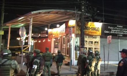 Balacera en Zona Tec de Monterrey