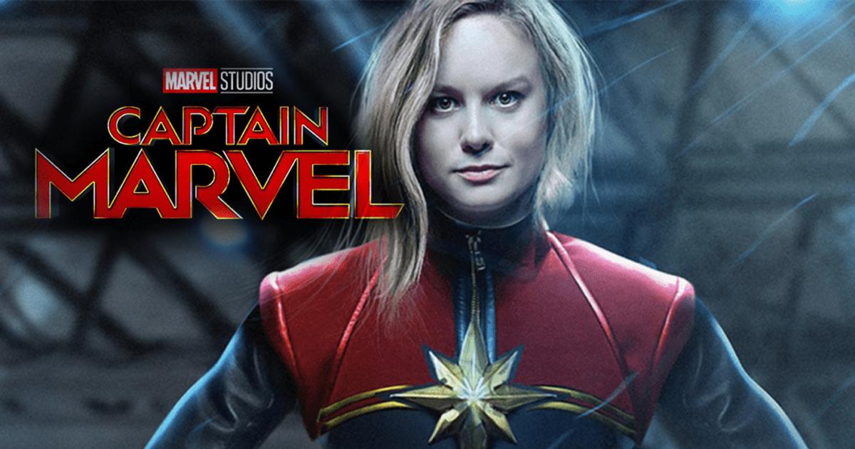 Se filtran imágenes de Captain Marvel
