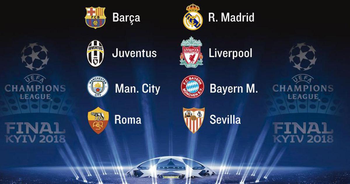 Champions League: Resultados de los partidos de ayer y hoy
