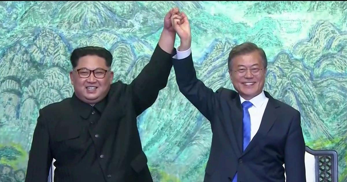 No más guerra en Corea del Norte y Sur