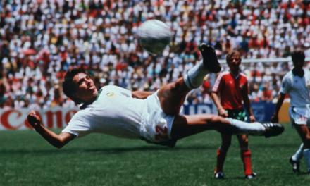 El mejor gol de la historia de los Mundiales.