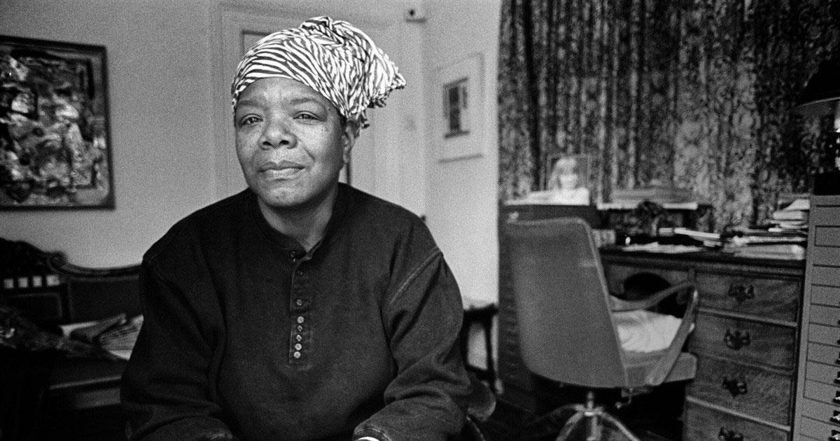 Dra. Maya Angelou en el doodle de hoy en Google