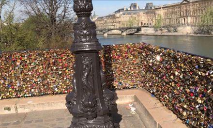 Retiran candados del Pont Neuf en París