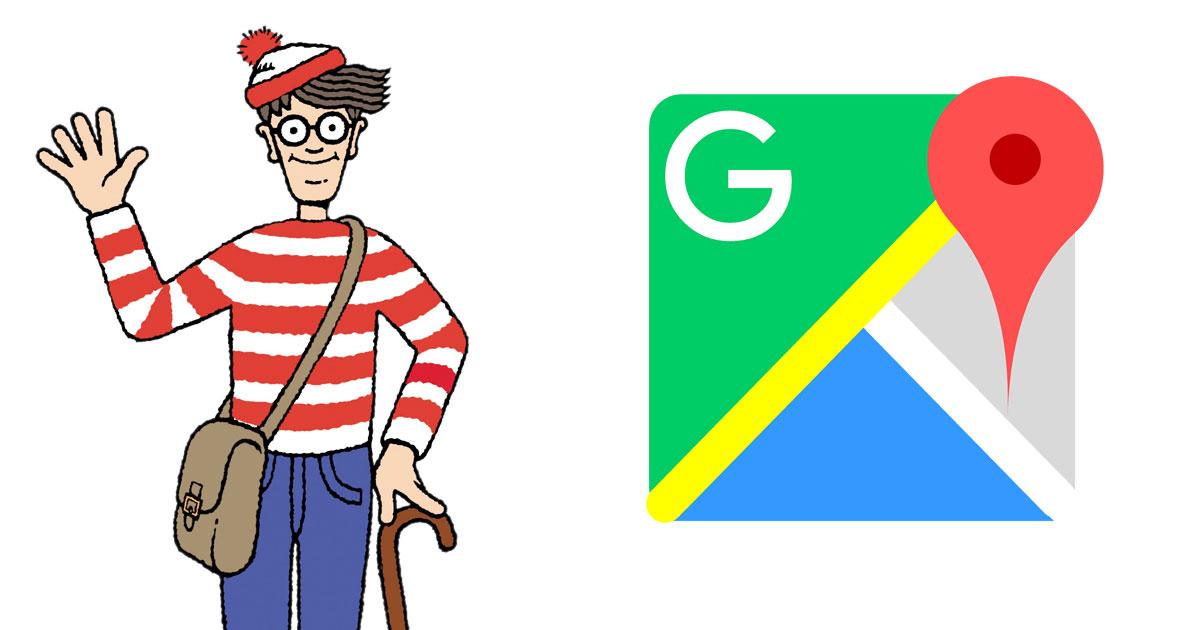 Wally en Google Maps