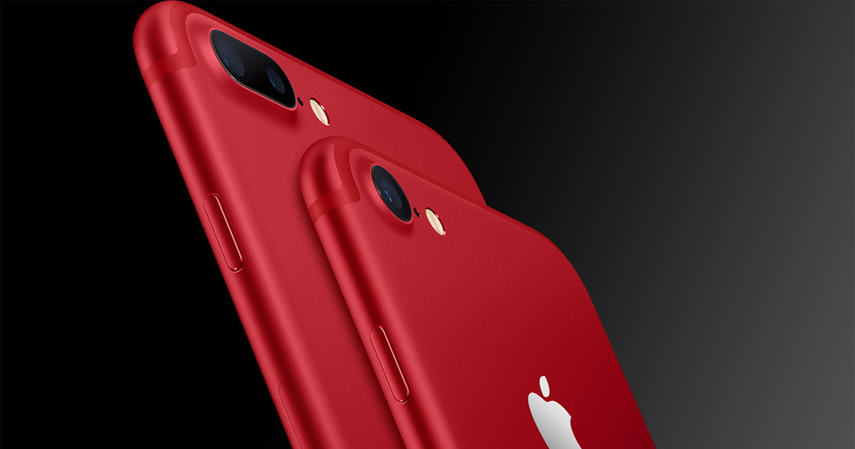 Apple anuncia iPhone 8 Red
