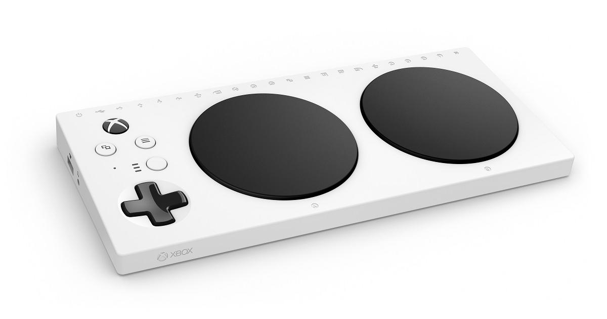Microsoft presenta control adaptativo