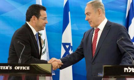 Inaugura Guatemala embajada en Jerusalem