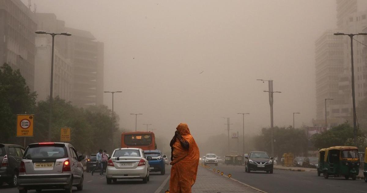 Tormentas de Polvo en la India