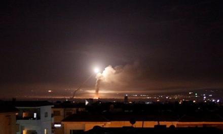 Ejercito israelí ataca a iraníes en Siria
