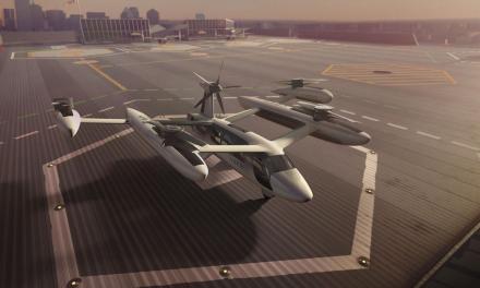 Uber presenta prototipo de taxi volador