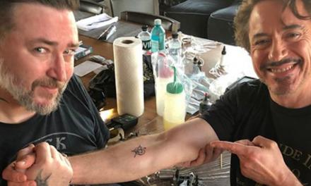 Cast de Avengers se hacen un tatuaje juntos