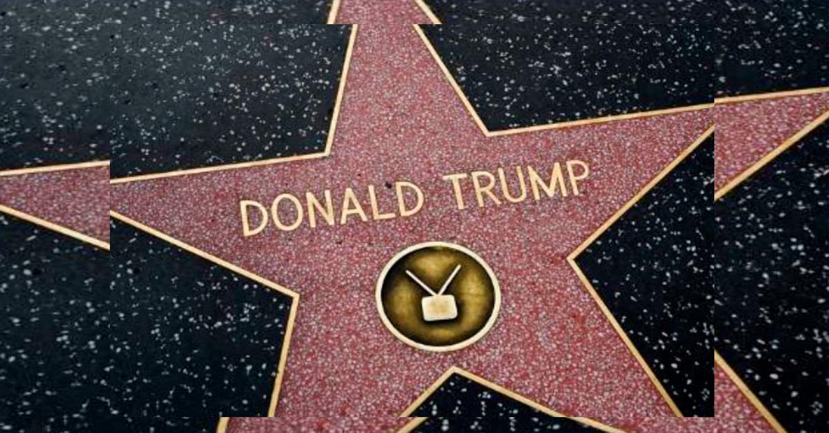 Destruyen estrella de Trump