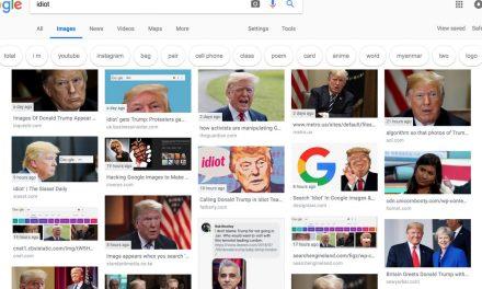 """Google, el buscador más usado en todo el mundo, """"cree"""" que Donald Trump es idiota.¿Sábes que es el Google boom?"""