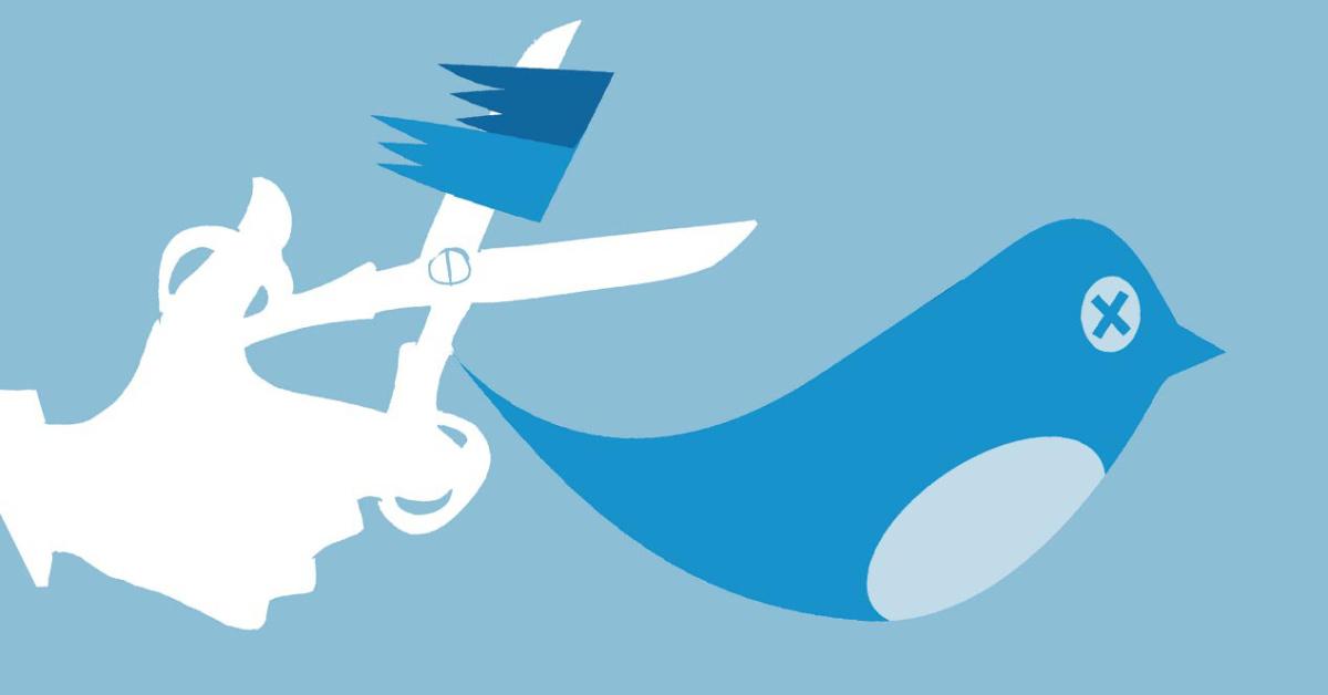 Twitter hace 'limpia' de seguidores