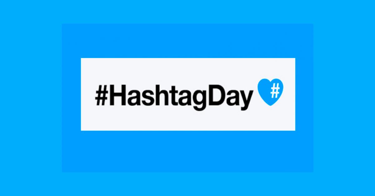 ¿Y tú cómo festejas el día del #hashtag?