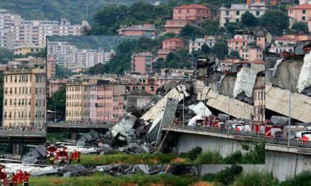 Se derrumba puente de una autopista en Génova