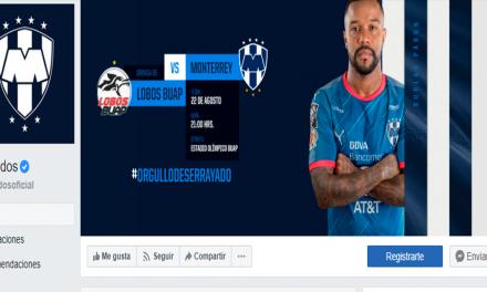 Rayados cambia su nombre en redes sociales