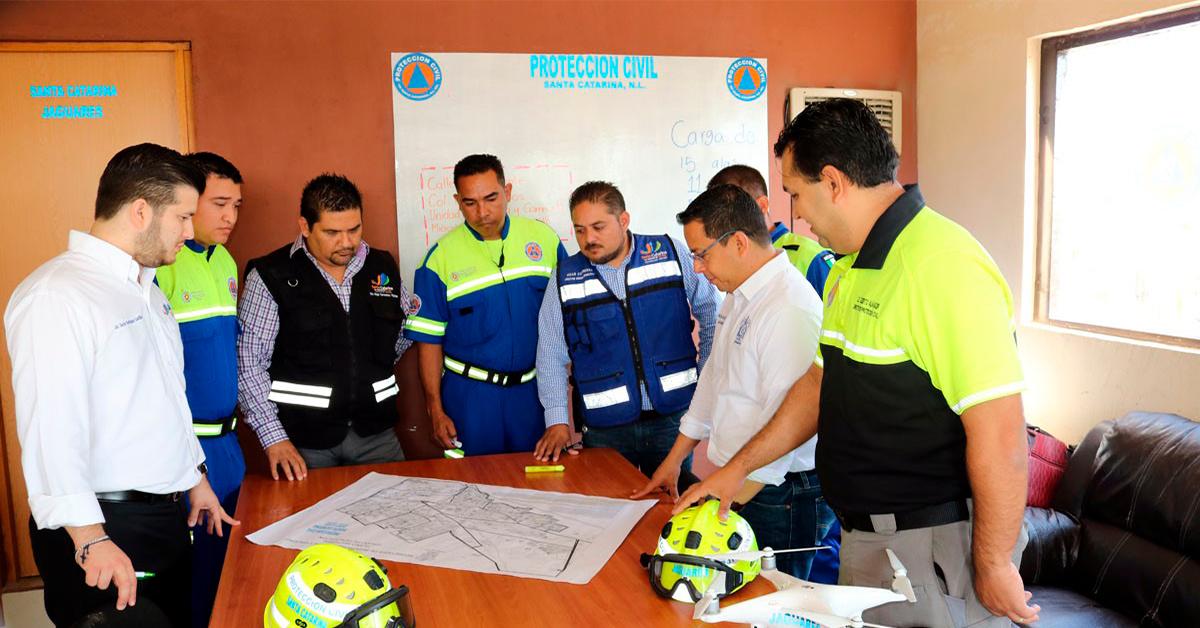 Santa Catarina con Centro de Monitoreo Meteorológico