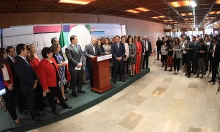 Diputados federales del PRI expresan su apoyo a Cristina y Adrián
