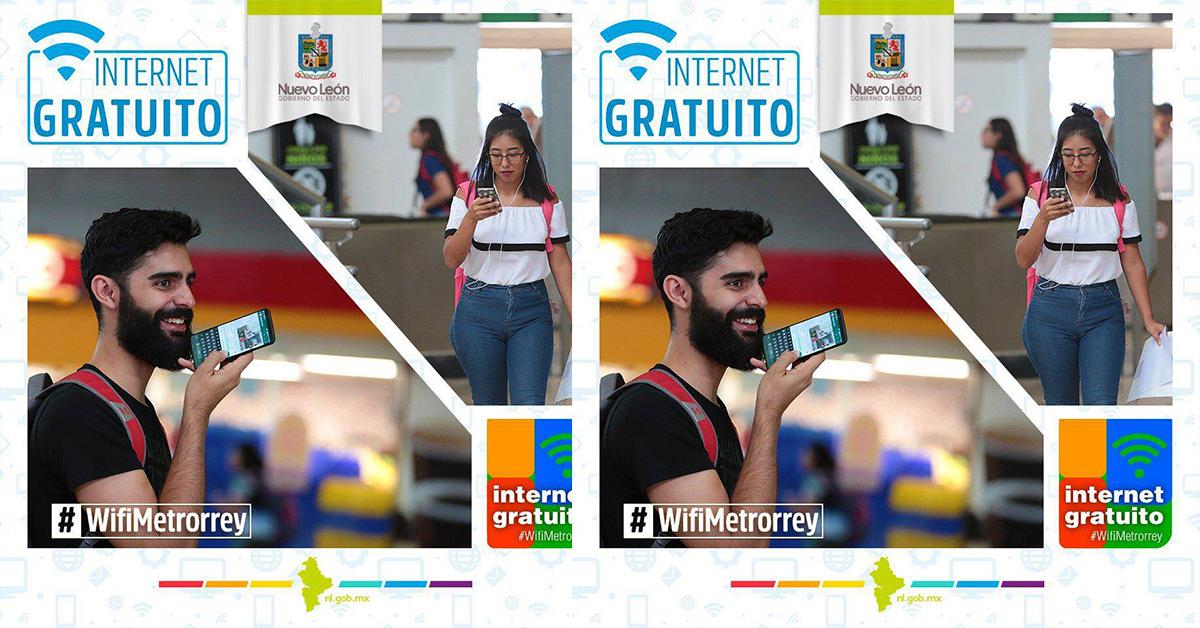 Wifi gratis en Metrorrey