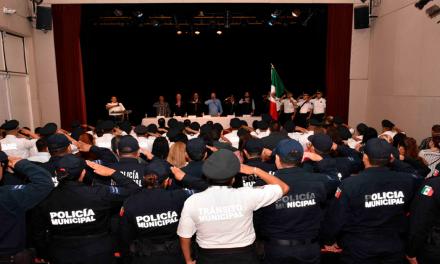 Agrega San Pedro más elementos policiales