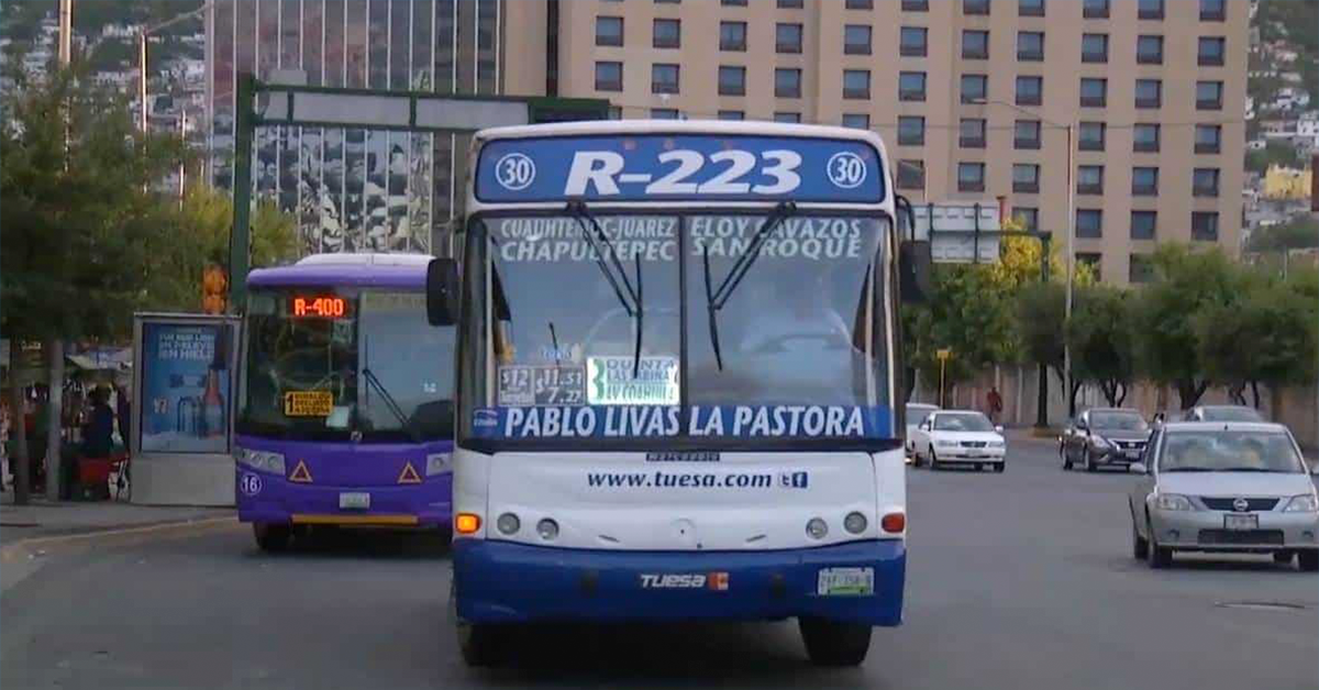 Aumento de tarifas en transporte público