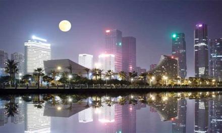 """China pretende """"luna artificial"""" que quieren poner en órbita para iluminar la ciudad"""