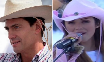 Enrique Peña Nieto canta 'Sálvame' de RBD