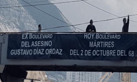 Piden retirar nombre de Díaz Ordaz de calles y colonias