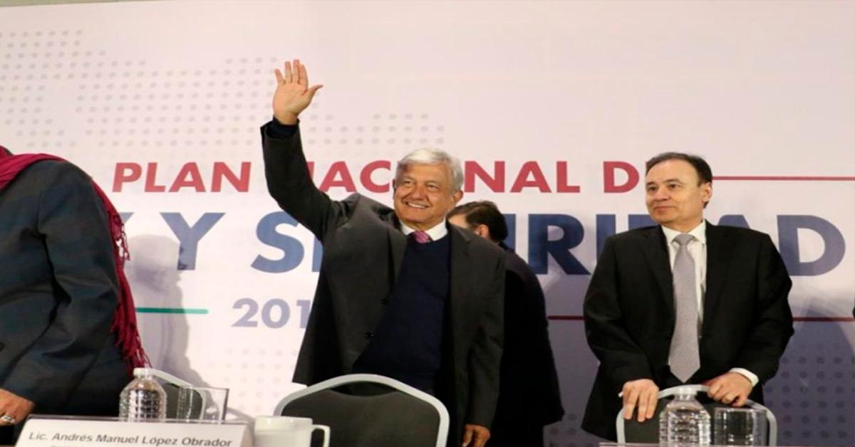 México merece vivir sin miedo: AMLO