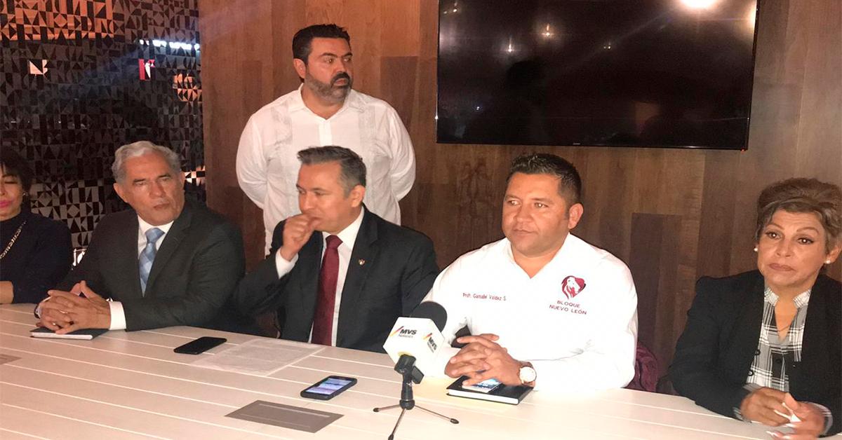 """Presentan movimiento """"Bloque Nuevo León"""""""
