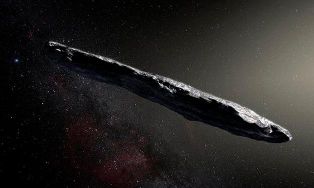 Este objeto espacial con forma de cigarrillo podría haber sido una nave extraterrestre