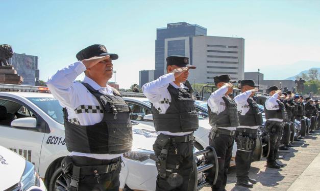 """Participarán mil 500 policías en operativo """"Buen fin"""" en Nuevo León"""