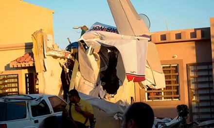 Se desploma avioneta en Sinaloa
